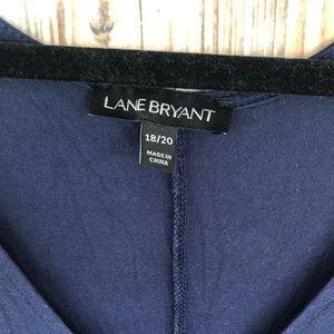 Lane Bryant Tops - Lane Bryant S/S Cut-out/ Cold Shoulder Top